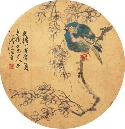 任伯年-花鸟