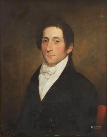 Cephas Thompson Gentleman with White Stock
