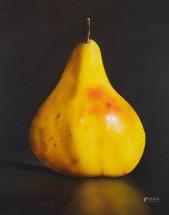 Tom Seghi Yellow Pear Painting