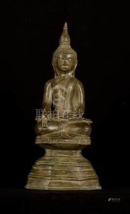 19th Century Laos Enlightenment Buddha