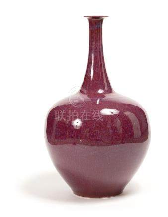 A Xiaofang Kiln Red-Glazed Vase