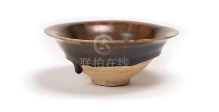 A Cizhou Yao Black-Glazed Bowl