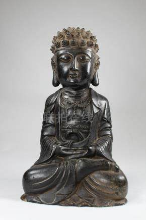 Ming Dynasty Rare Carved Stone Buddha