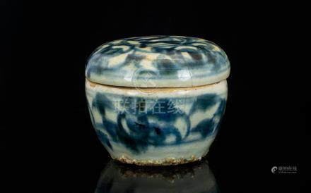 Antique Chinese Ming Dynasty Box And Cov