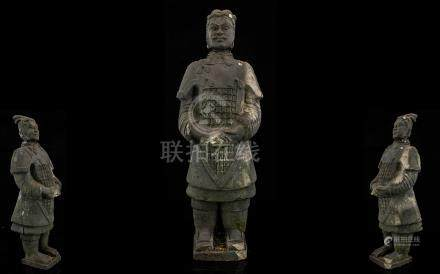 Antique Chinese Terracotta Tomb Figure M