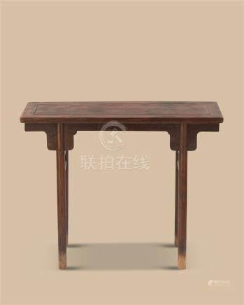 清代(1644-1911) 黄花梨供桌