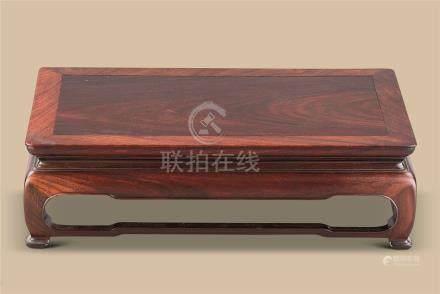 清代(1644-1911) 红木长方台