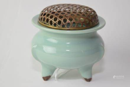 Chinese Longquan Glaze Incense Burner