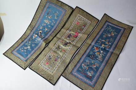 Three Chinese Embroideries