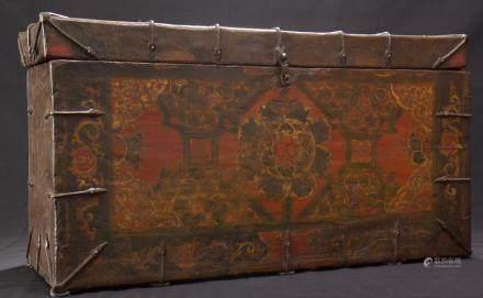 TIBETAN TRUNK - 18th CENTURY - LASHA