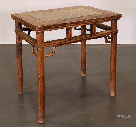 SIDE TABLE - CHINA, SHANXÌ PROVINCE - 19th CENTURY