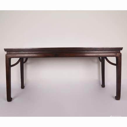 CHINESE HARDWOOD LONG TABLE