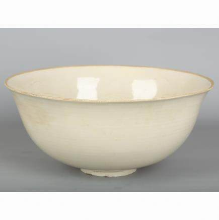 CHINESE DING WARE PORCELAIN BOWL