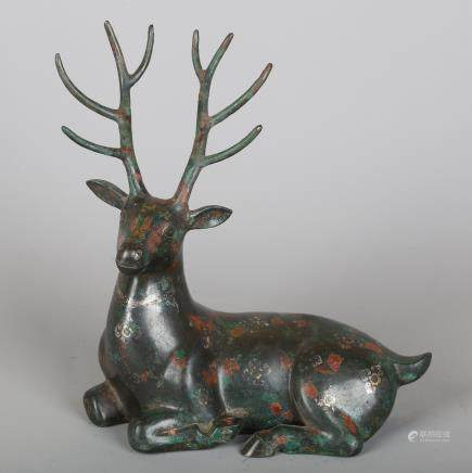 CHINESE BRONZE DEER