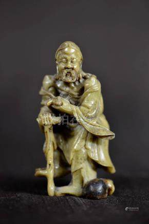 Chinese Soapstone of Immortal
