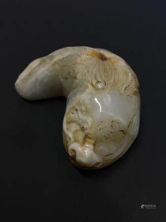 Chinese Archaic 'Animal' Jade Stone