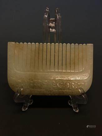 Chinese Archaic Jade Comb