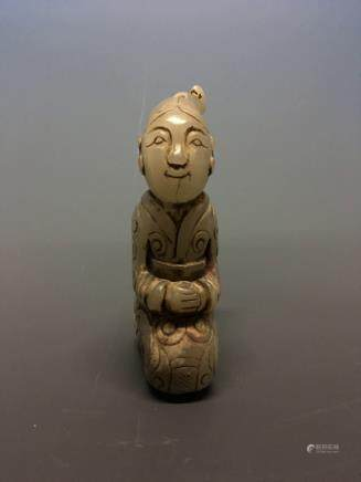 Chinese Archaic Jade Figure