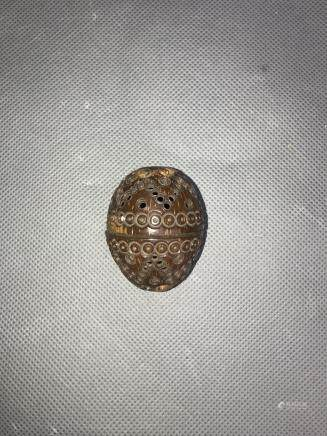 small wood ball