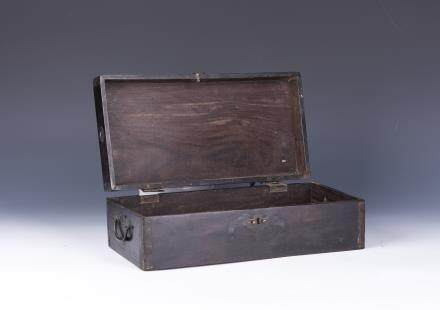 ROSEWOOD OR ZI TAN WOOD BOX