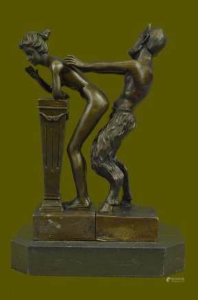Huge Sale Quality Bergman Naked Satyr & Nude Girl