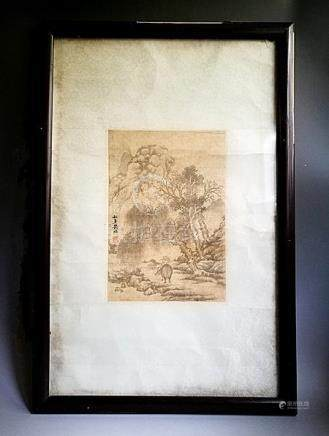 Fine Framed Antique Chinese Ink Painting