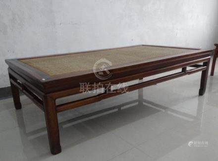 Fine Old Chinese Hardwood Luohan Bed