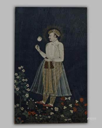 An Islamic Mughal framed painting