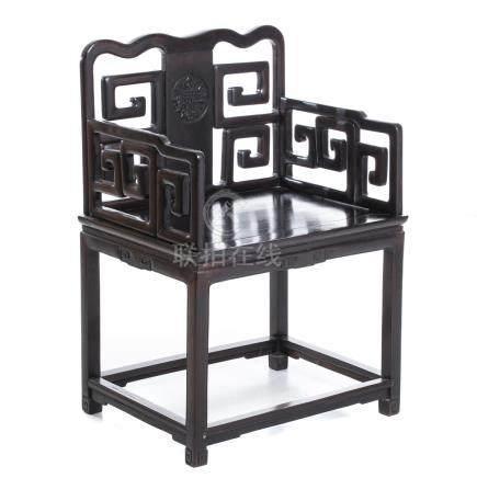Chinese hongmu chair