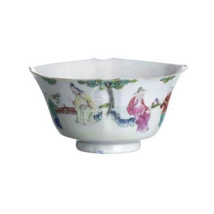 Bowl in chinese porcelain, Guangxu