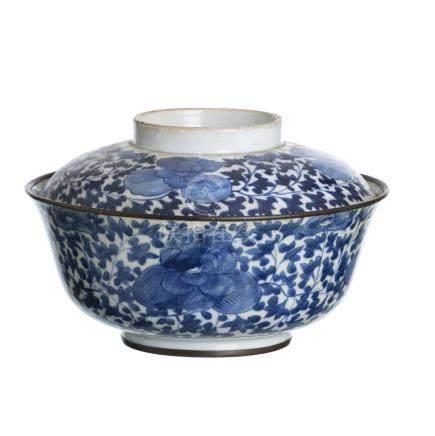 Chinese porcelain box, Guangxu