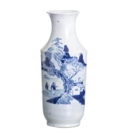 Vase in chinese porcelain, Guangxu