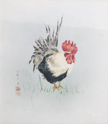 JAPANESE SCHOOL (19th/20th) - 'Rooster'