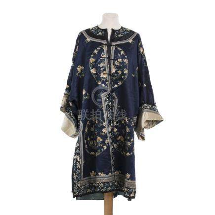 Chinese silk robe