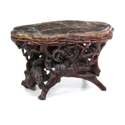 Chinese amber tea table