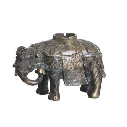 Tibetan incenser burner 'elephant'