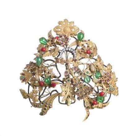 Tibetan hair ornament