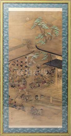 ESCOLA JAPONESA. 19th century - 'Samurai'