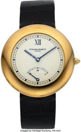 54018: Chaumet, Fine Aquila Power Reserve, 18K Yellow G