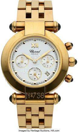 54031: Chopard, Imperiale Chronograph, 18K Yellow Gold
