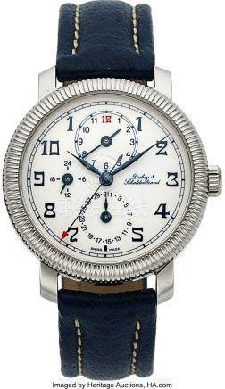 54037: Dubey & Schaldenbrand, Diplomatic GMT, Automatic