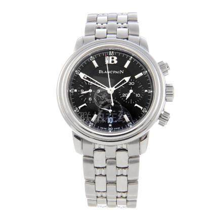 BLANCPAIN - a gentleman's Villeret chronograph bracelet