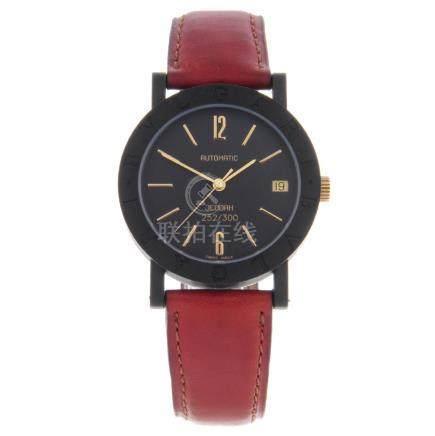 BULGARI - a limited edition mid-size Jeddah wrist
