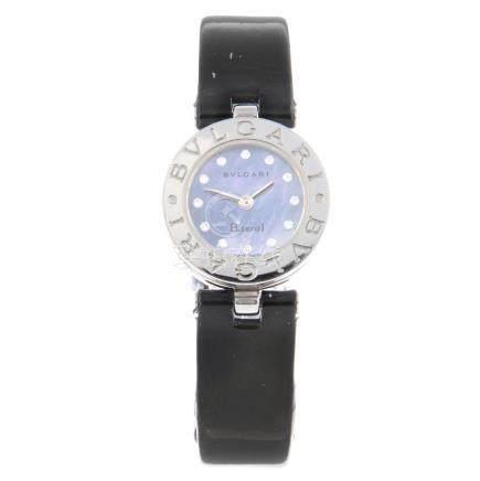 BULGARI - a lady's B.zero1 wrist watch. Stainless steel