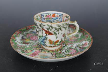 Min Two Sets of Colorful Cups and Saucers