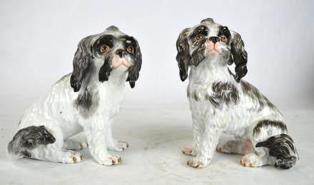 Pr Meissen Dog Figure
