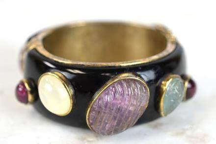 14K Vintage Costume Bracelet