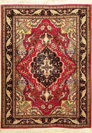 Fine Tabriz 'Part-Silk' Rug,