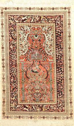 Fine Chinese Silk Rug,