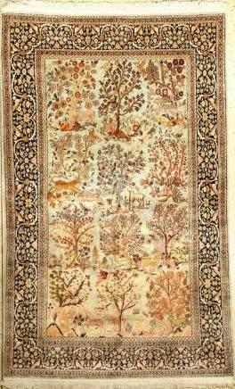 Kashmir Silk Rug,